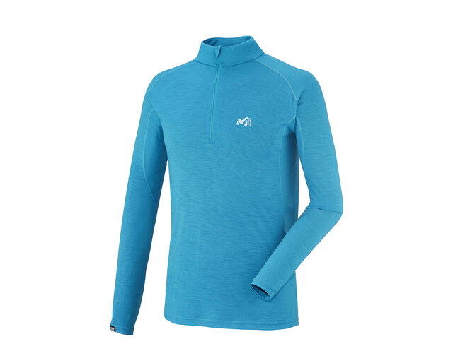 Millet C Wool Blend 150 Zip LS Men electric blue